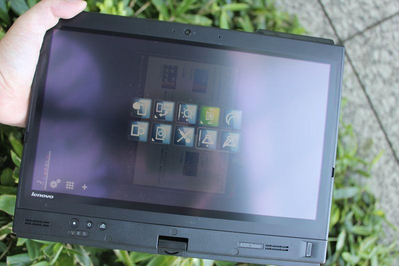 ThinkPad X220 Tabletをタブレットスタイルで使う