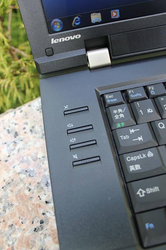 ThinkPad L520の左のファンクションボタン