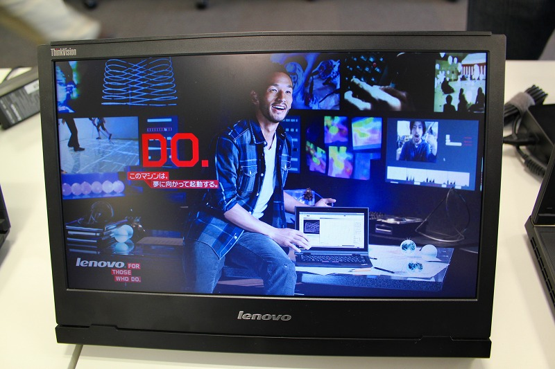 ThinkVision LT1421 レビュー