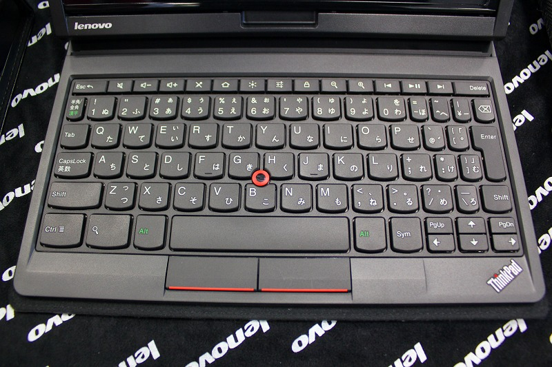 ThinkPad Tablet キーボードフォリオ