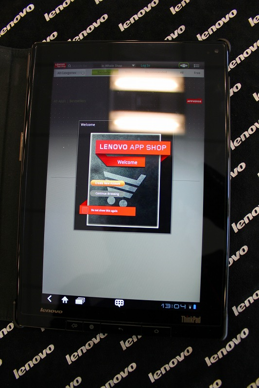 ThinkPad Tablet レビュー