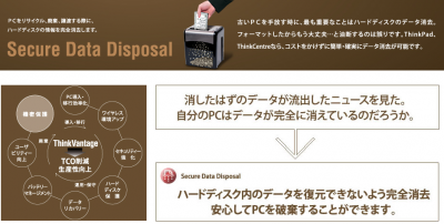 Secure Data Disposal 機密保護