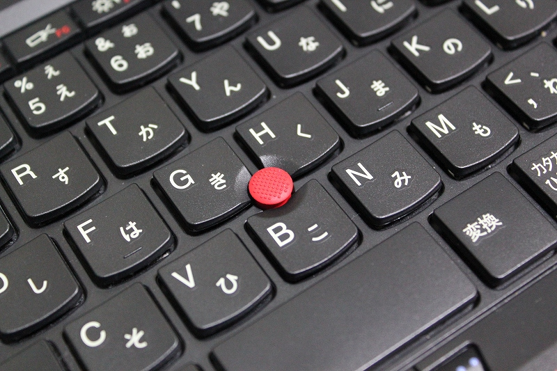 ThinkPad トラックポイントキャップの交換