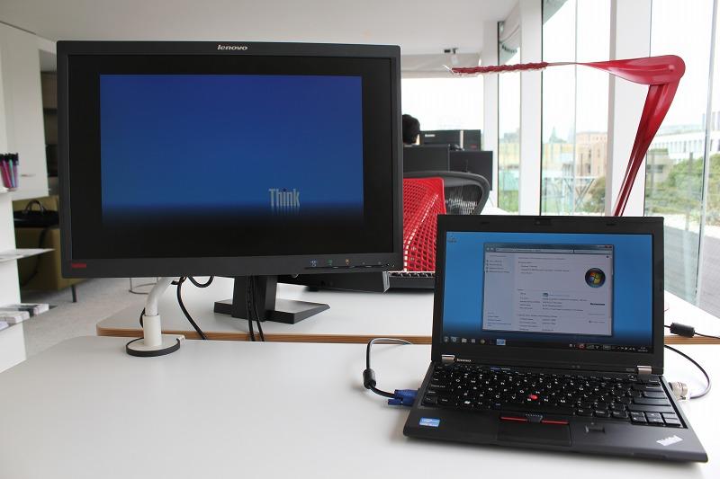 ThinkPad X230のワーキングスタイル