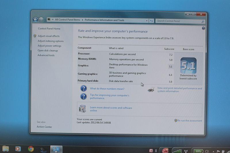 ThinkPad X230の性能評価