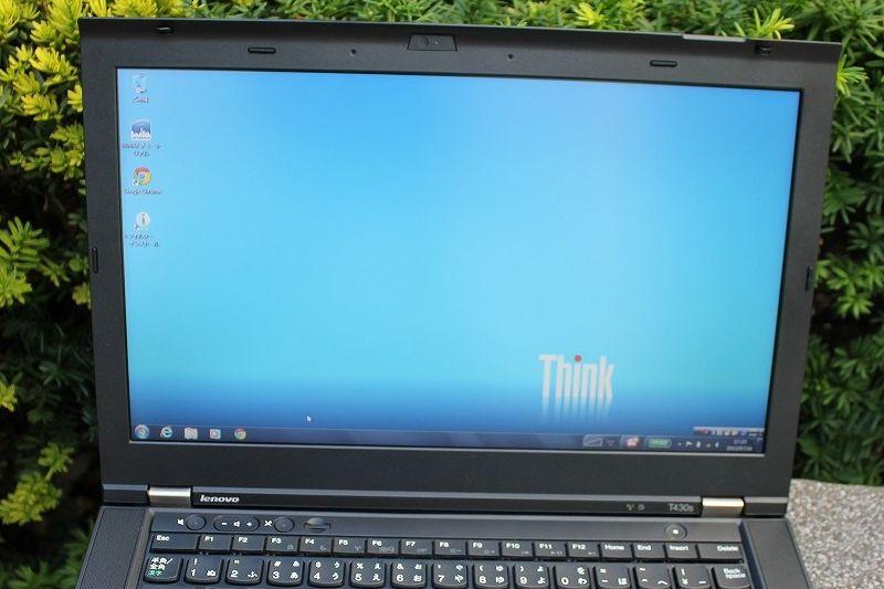 ThinkPad T430sの液晶