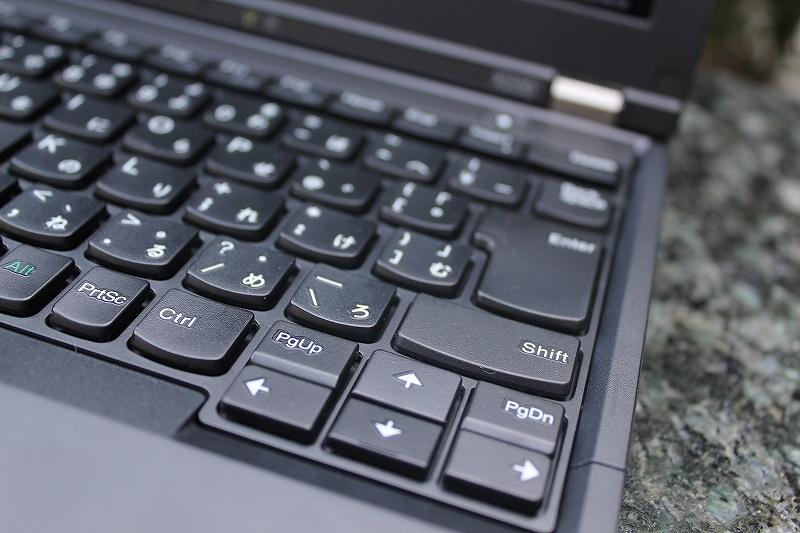 ThinkPad X230カーソルキー