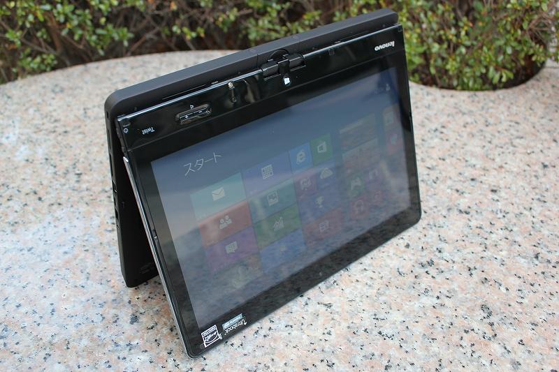 ThinkPad Twistのテント・モード