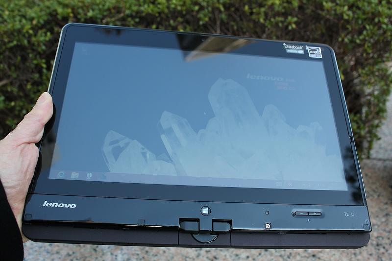 ThinkPad Twistのタブレット・モード