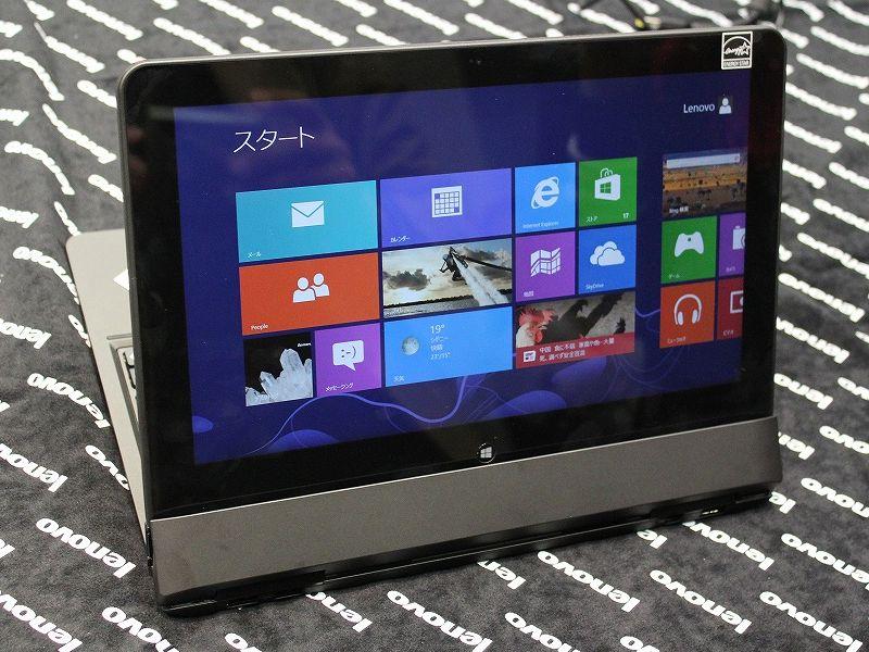 ThinkPad Helixのスタンドモード