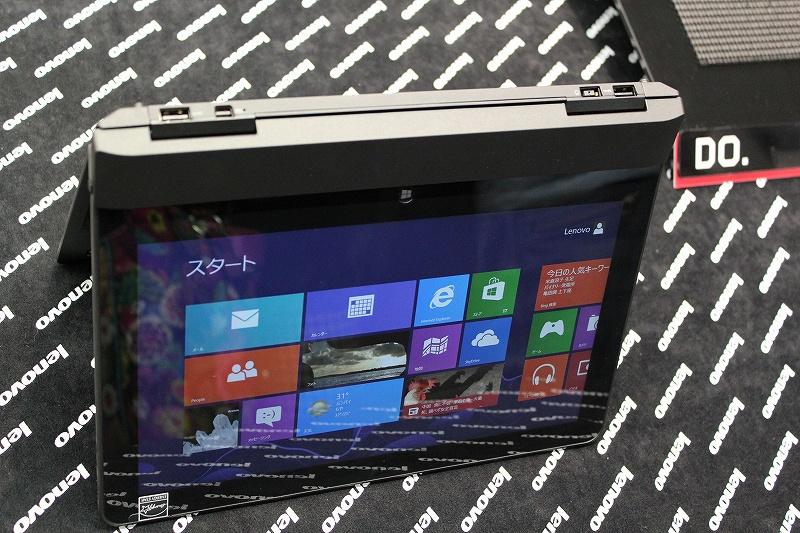 ThinkPad Helixのテントモード