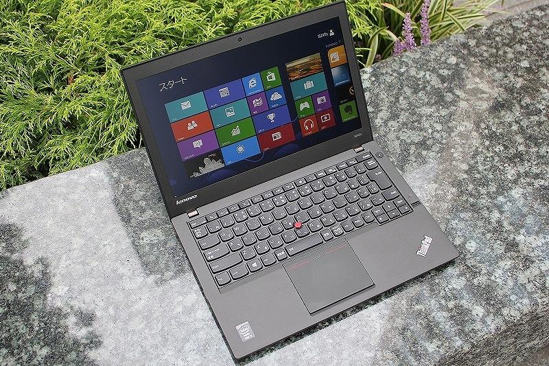 ThinkPad X240s 広い視野角