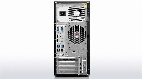 ThinkServer TS140 背面