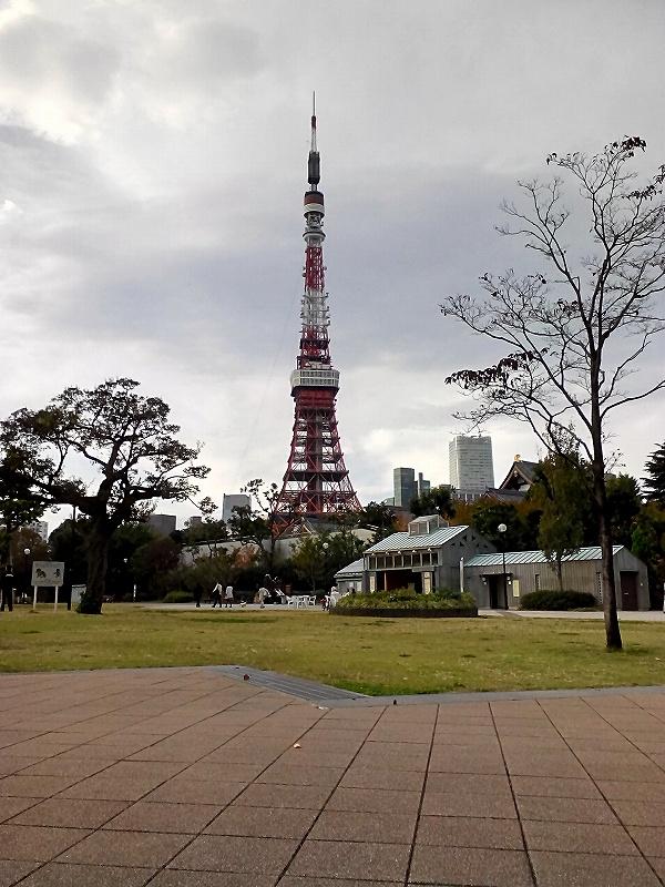 YOGA TABLET 8で撮影した東京タワー