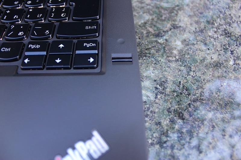 ThinkPad T440p 指紋センサー