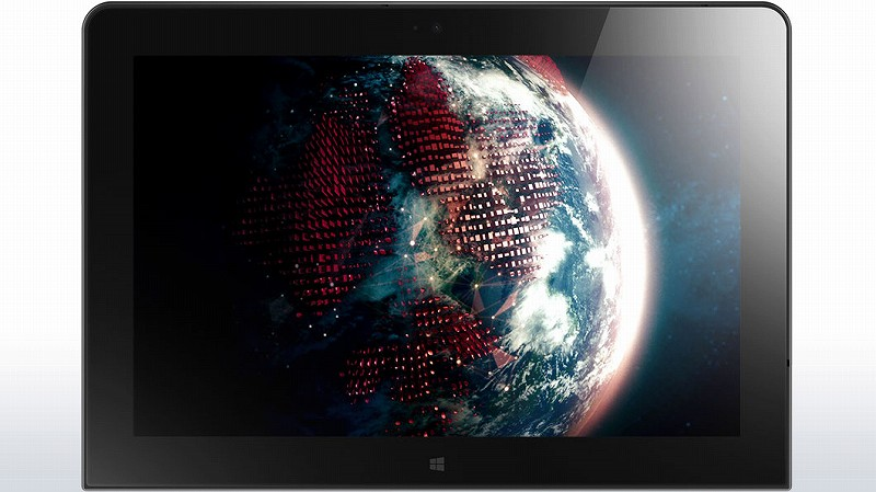 ThinkPad 10 Tablet 表側