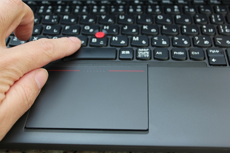 ThinkPad X240 TrackPoint + 5ボタントラックパッド