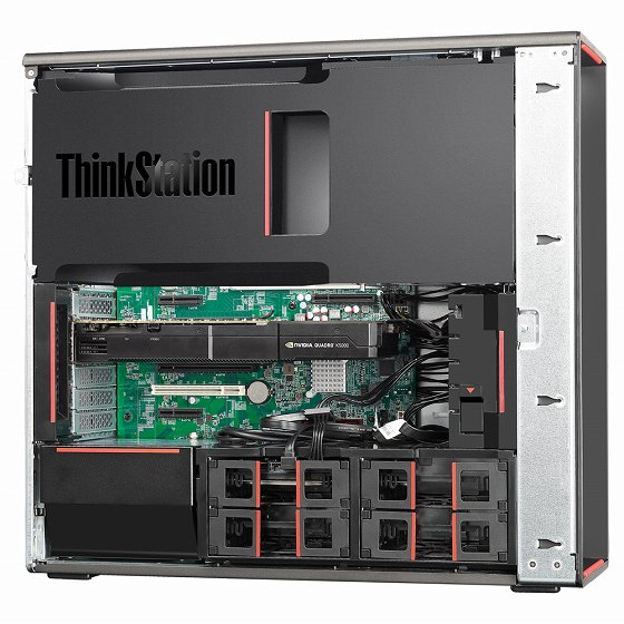 ThinkStation P500 側面