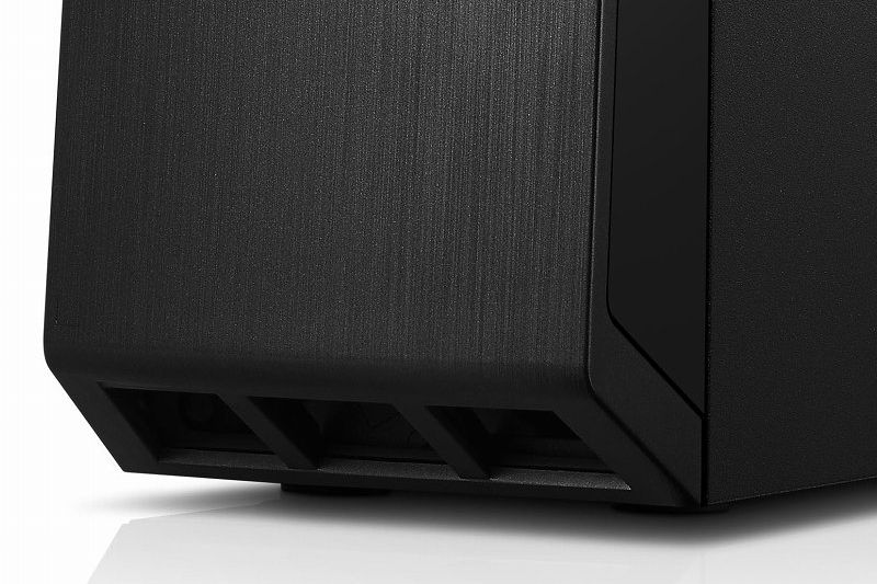Lenovo H30 冷却とデザイン性を兼ね備えたフロントパネル