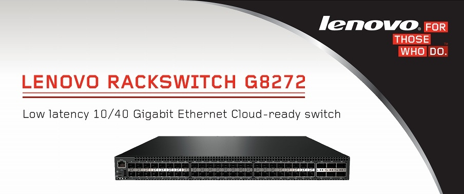 Lenovo Rack Switch G8272