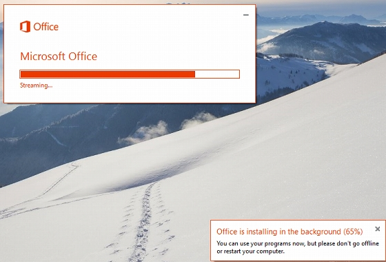 Office 2016 Public Previewをセットアップ