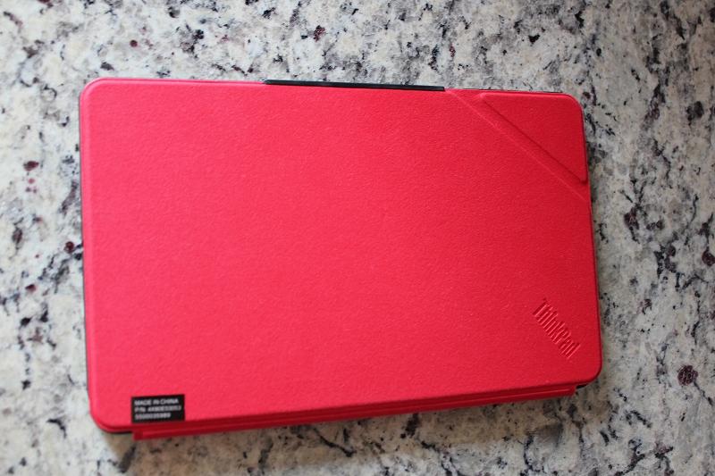 ThinkPad 8 クイックショットカバーとフィット感