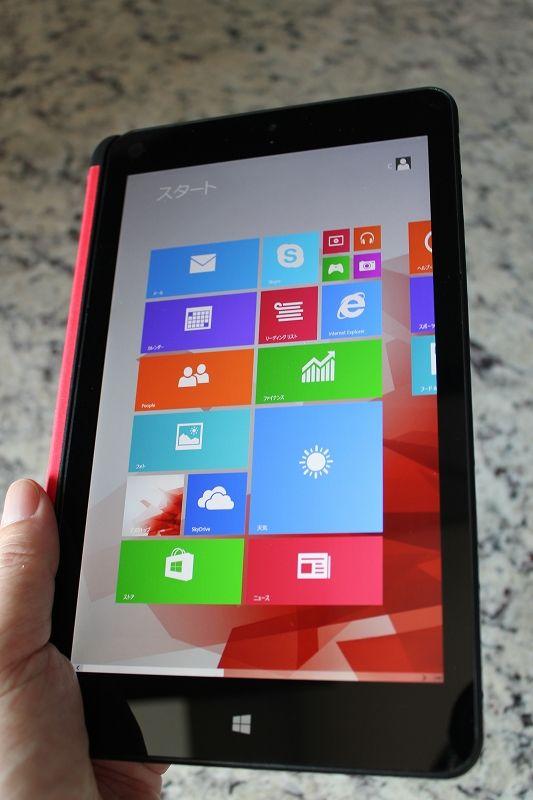 ThinkPad 8 クイックショットカバーとホールド感
