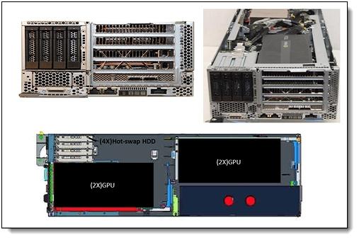 NeXtScale PCIe 2U NeX トレイ