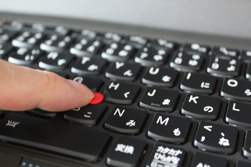 ThinkPad X250 トラックポイントの使用感