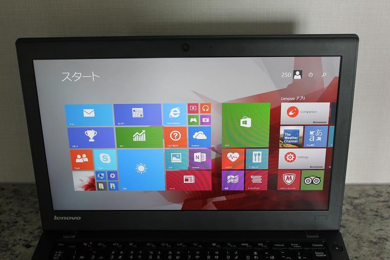 ThinkPad X250 液晶画面