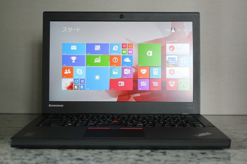 ThinkPad X250 レビュー