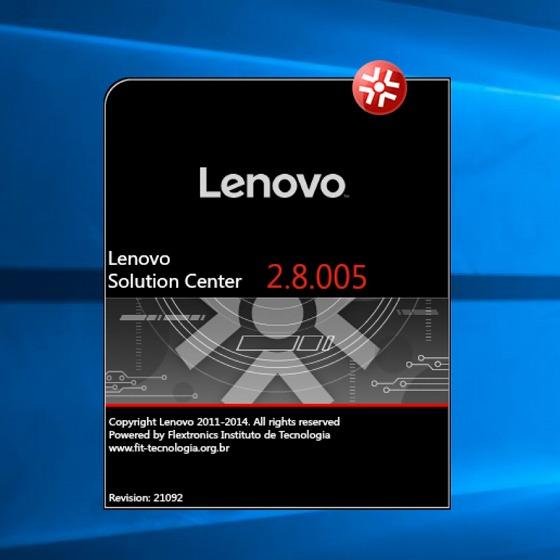 Lenovo Solution Center