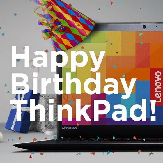 Happy Birthday ThinkPad !