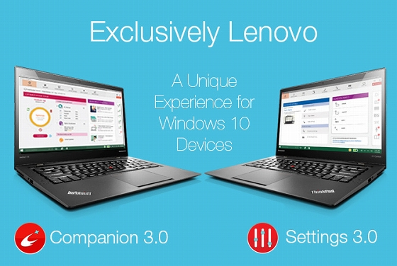 Lenovo Companion 3.0 / Settings 3.0