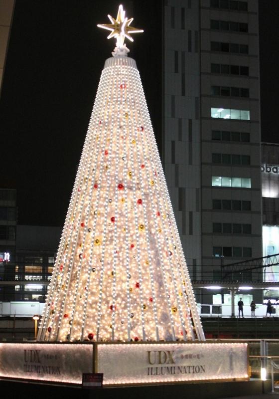 UDX クリスマスツリー