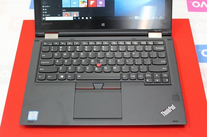 ThinkPad Yoga 260のキーボード