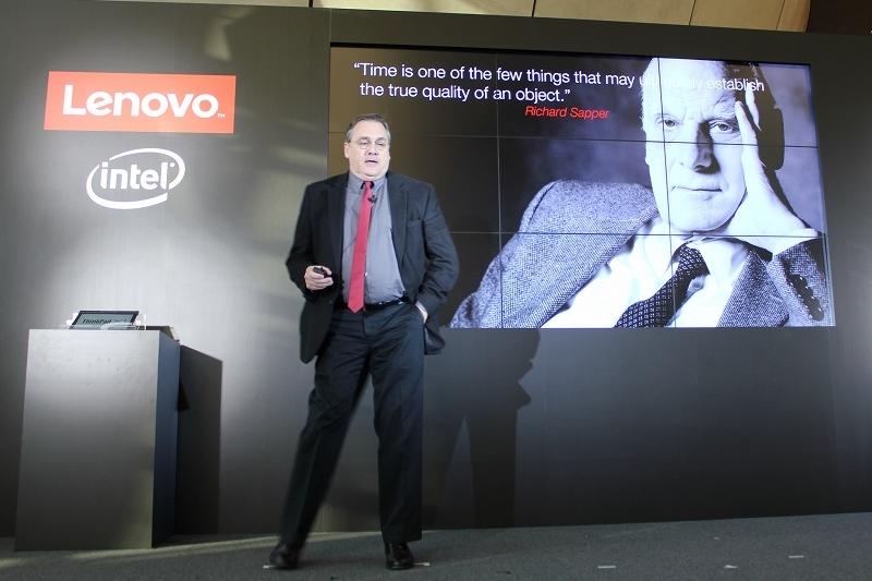 ThinkPadのデザインを担当 米国Lenovo副社長 デビッド・ヒル氏