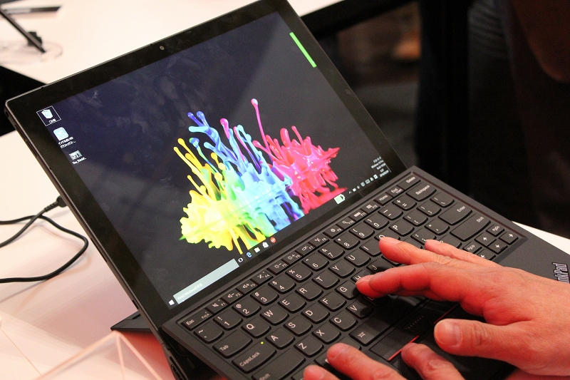 ThinkPad X1 Tabletタッチアンドトライ