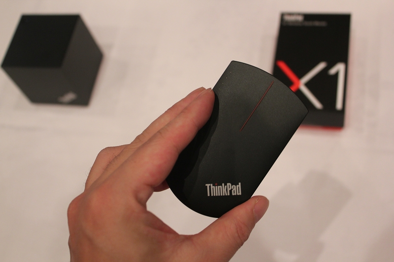 ThinkPad X1 ワイヤレスタッチマウスの使用感