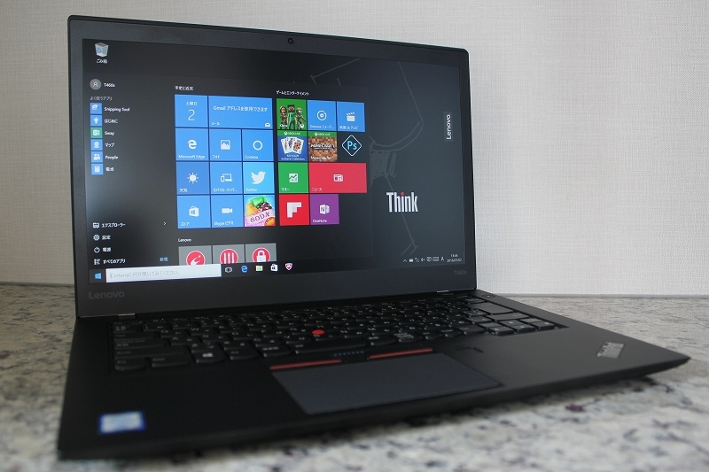 ThinkPad T460s 斜め正面