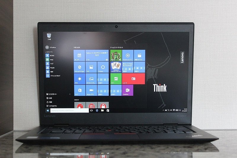 ThinkPad X1 Carbon レビュー