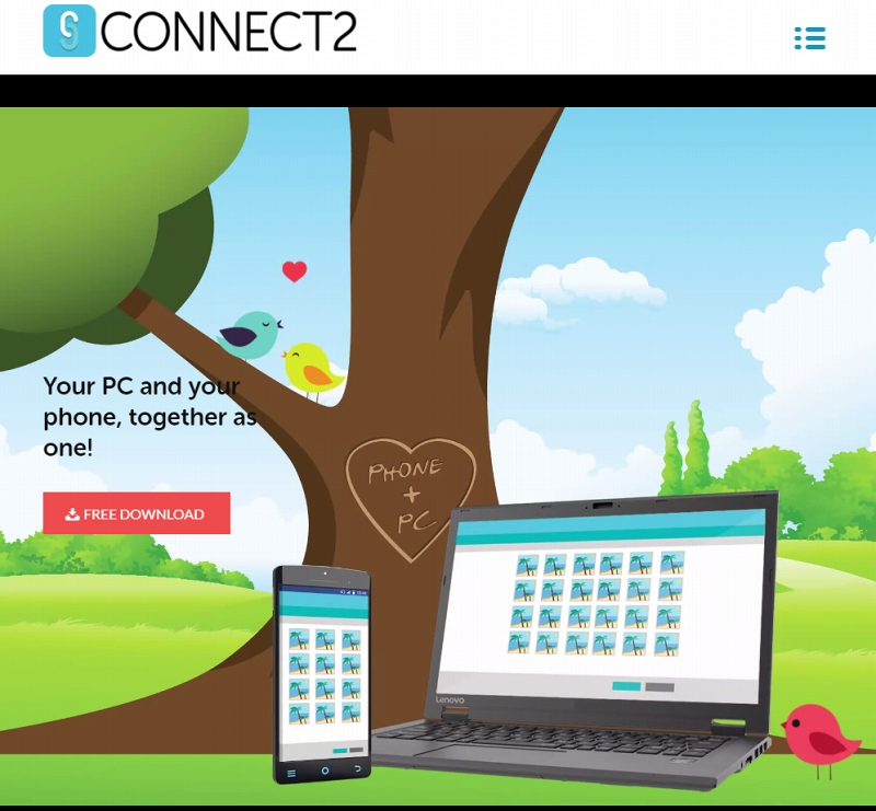 Lenovo Connect2 Webサイト