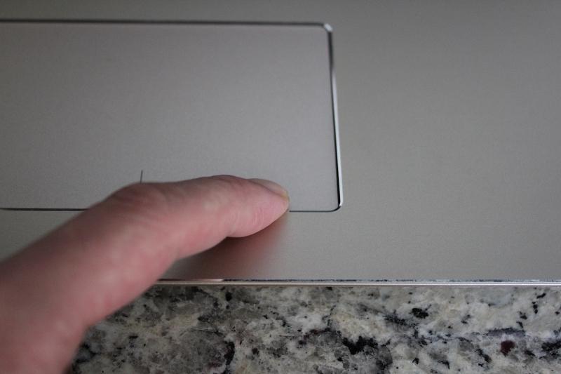 ideaPad 520のタッチパッドのクリック感