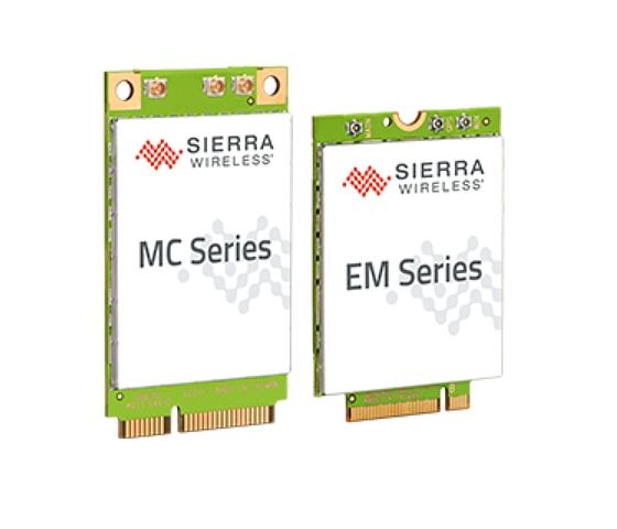LTE通信モジュール SIERRA Wireless AirPrime EM/MC Series