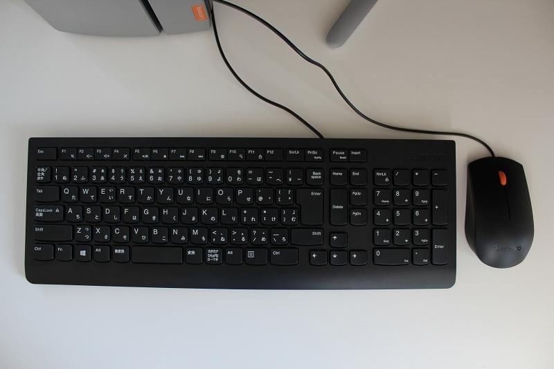ideacentre 720 付属キーボード・マウス