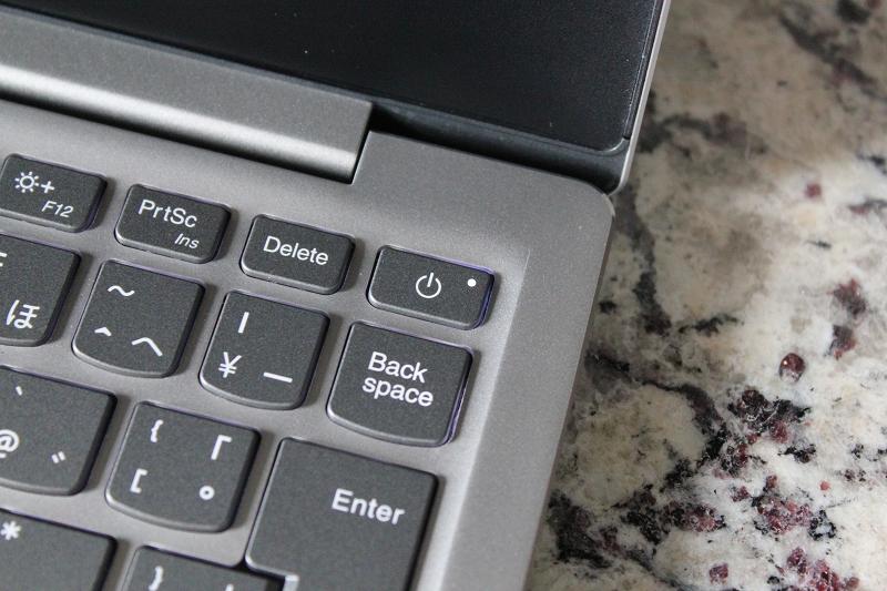 ideapad 720s 電源ボタン