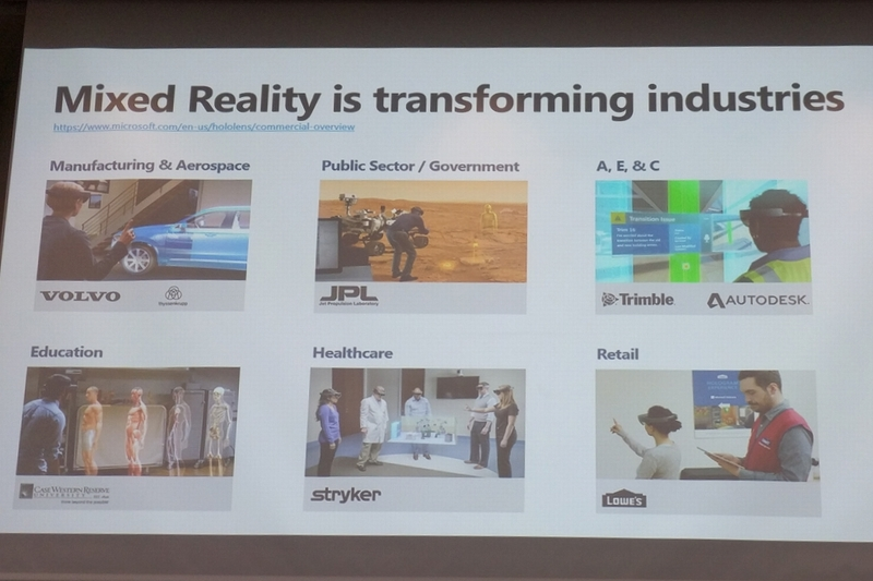 Mixed Reality is transforming industries