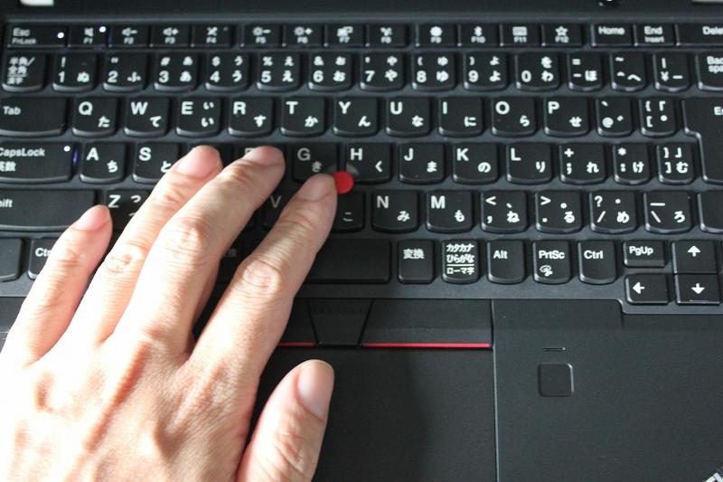 ThinkPad X280のトラックポイントの使用感