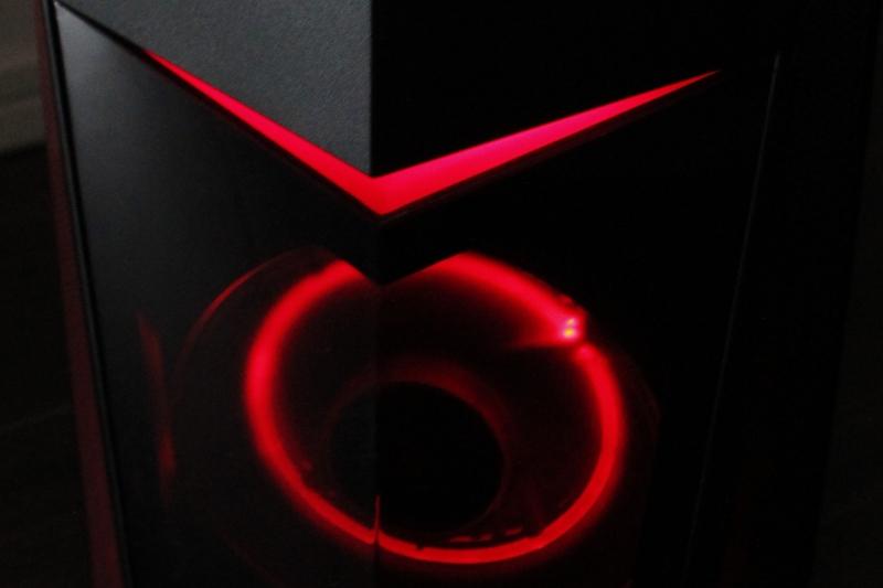 Legion Y520 Tower 赤く光ります