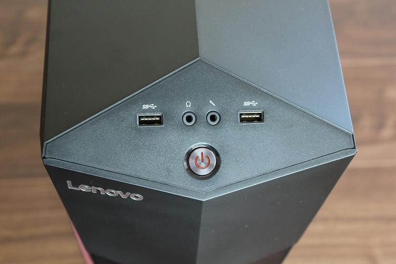 フロント 電源ボタン
